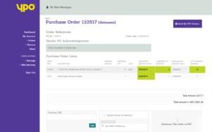 YPO Order